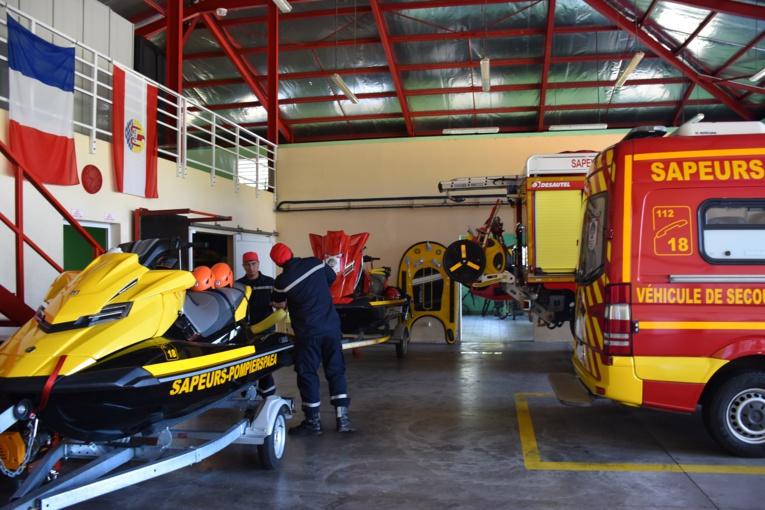 Le centre de secours de Paea est l'un des plus récents du fenua. Il a été inauguré en 2013.