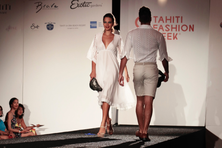 Le styliste Steeve L. Crédit : Tevahitua Brothers.