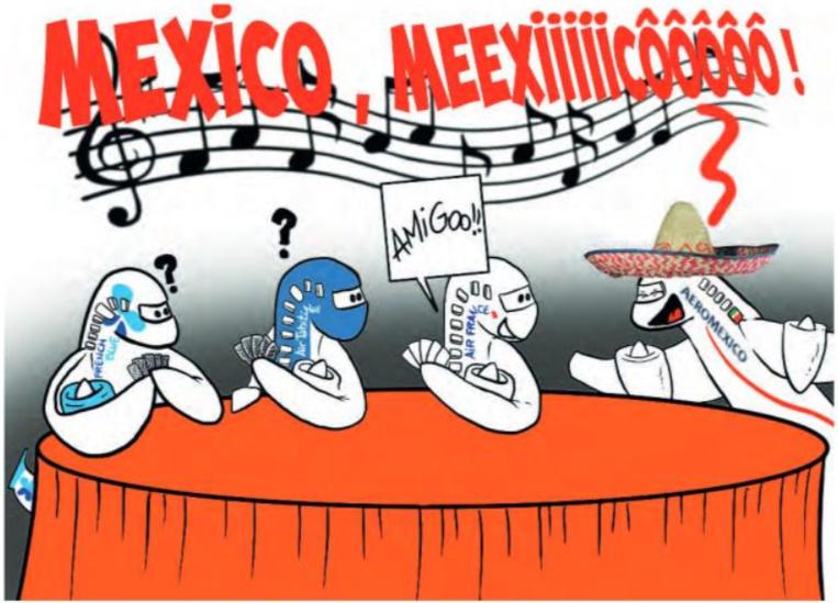 """"""" Mexican connection """" par Munoz"""