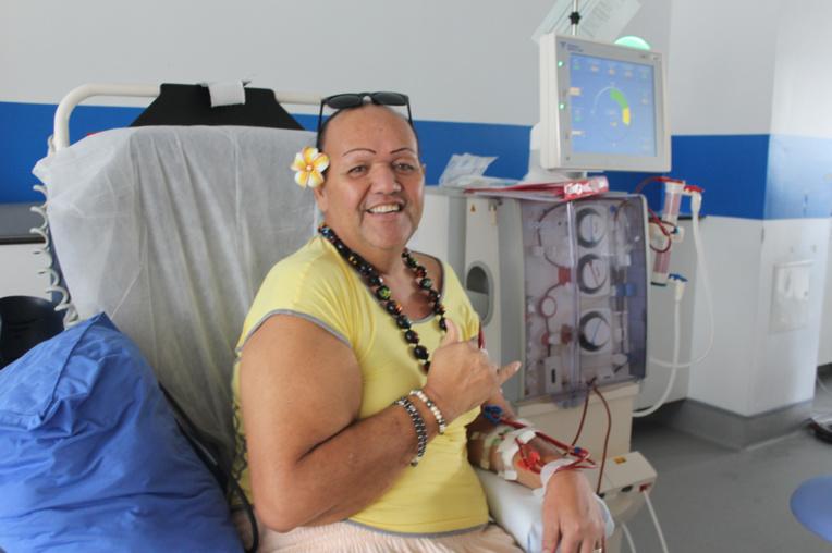 Le quotidien de Ginger est rythmé par ses séances de dialyse. Depuis deux ans et demi, trois fois par semaine, il passe quatre heures branché à un appareil.