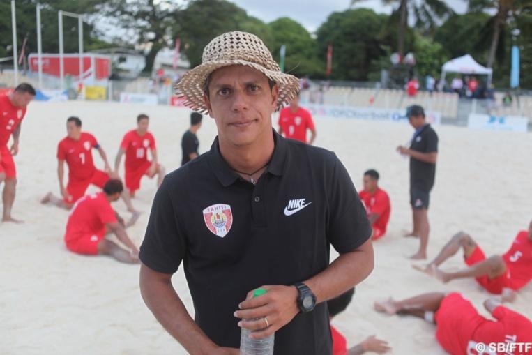 Naea Bennett, coach des Tiki Toa