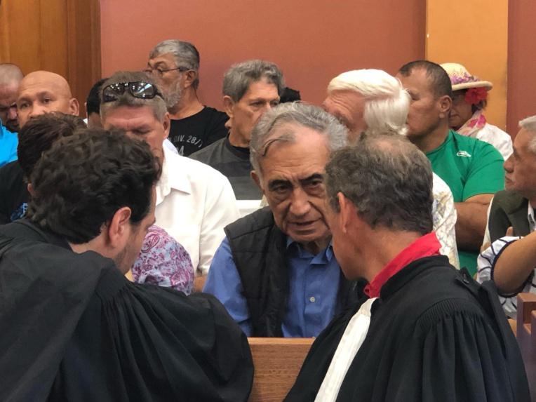 Oscar Temaru s'explique face aux juges