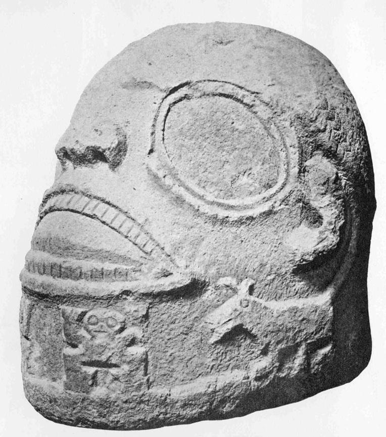 Cette tête de tiki a été ramenée en Allemagne par von den Steinen; elle provient sans doute du site de Puamau; y reviendra-t-elle un jour?