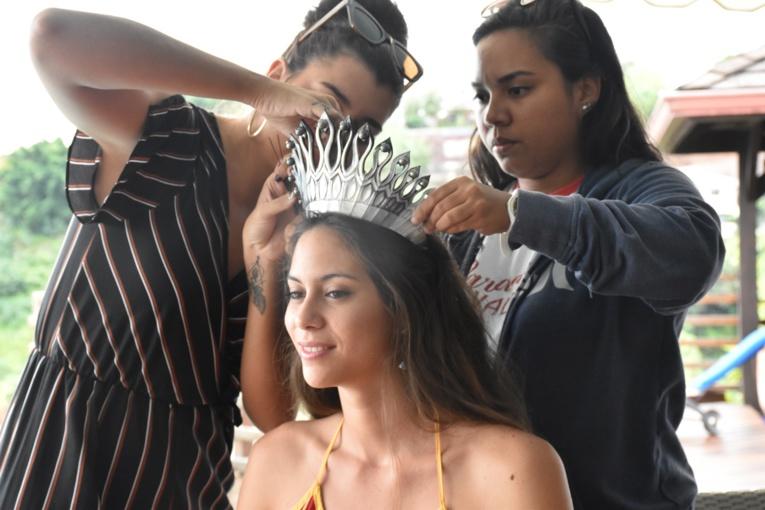 """""""J'essayerai juste de faire de mon mieux pour être une aussi bonne Miss Tahiti que Vaimalama."""""""