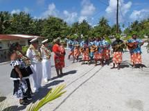 Déplacement du Haut-Commissaire dans les atolls de Tureia et de Moruroa