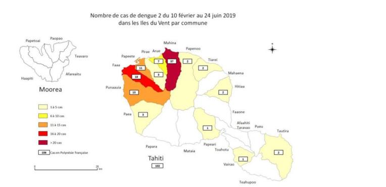 Plus de 100 cas de dengue 2 enregistrés
