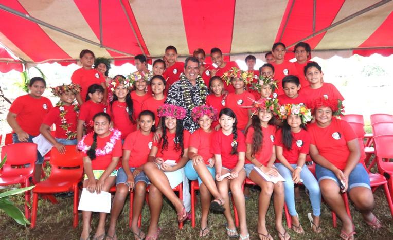 La nouvelle maternelle de Papeari livrée dans 20 mois