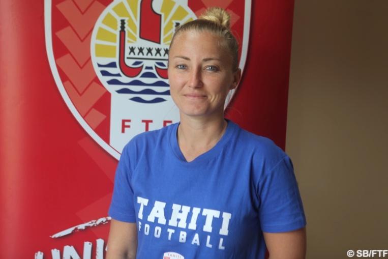 "Stéphanie Spielmann, chef de projet ""foot féminin""à la FTF"