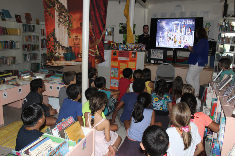 Une vingtaine d'enfants ont participé à ce premier Escape Game pédagogique.