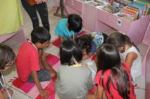 Les enfants avaient 45 minutes pour trouver les trois dieux tricheurs.