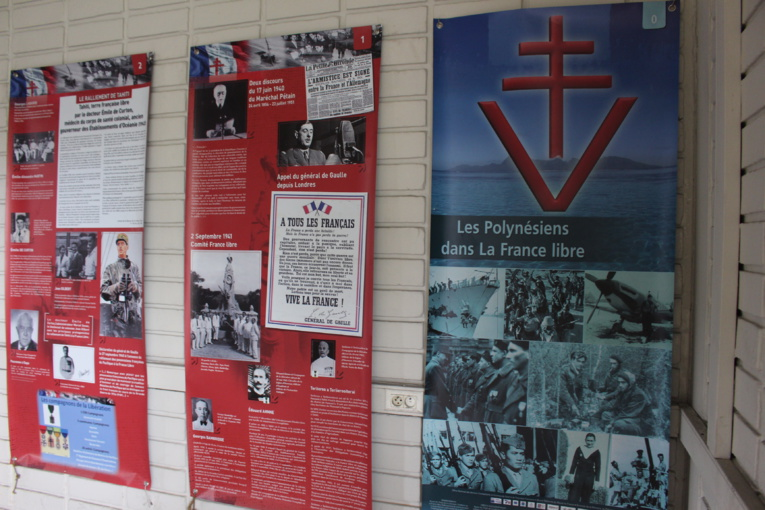 """La Maison du combattant raconte """"Les Polynésiens dans la France libre"""""""