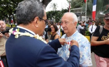Six nouveaux Chevaliers dans l'Ordre de Tahiti Nui