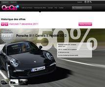 Des Porsche neuves vendues moitié prix sur un site internet suisse