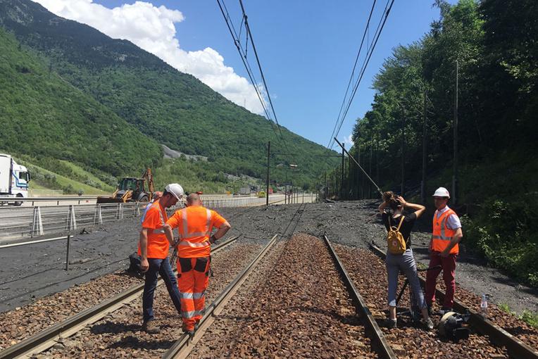 """Orages : la ligne TGV France-Italie via Modane coupée """"plusieurs semaines"""""""