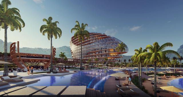 En avril 2018, Kaitiaki Tagaloa annonçaient en grande pompe que Marriott International, le plus grand groupe hôtelier au monde, régnerait sur le Village tahitien à travers plusieurs enseignes : W Hotel, Four Points by Sheraton, Moxy…