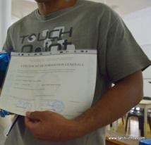 Les résultats du certificat de formation générale