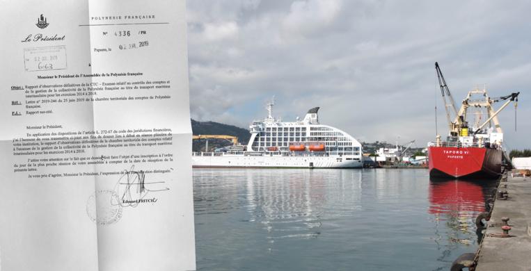 La CTC plonge dans le maquis du transport maritime interinsulaire