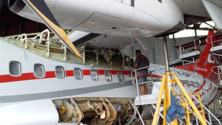 La flotte d'Air Tahiti compte désormais exclusivement des ATR de dernière génération 600 soit deux ATR 42-600 et sept ATR 72-600, auxquels s'est ajouté en avril dernier un ATR 72-600 en leasing (location) sans option d'achat pour une durée de 18 mois.