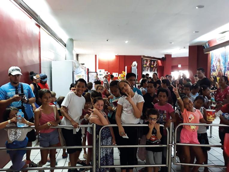 Le cinéma, c'est l'aventure, le rêve, l'émotion, la joie, le partage, Cinékid Tahiti veut ainsi donner aux enfants le goût de fréquenter, sans leurs parents, les salles obscures,