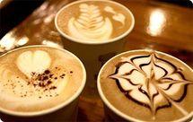 """A Washington, un """"championnat du monde"""" de dessin sur """"caffè latte"""""""