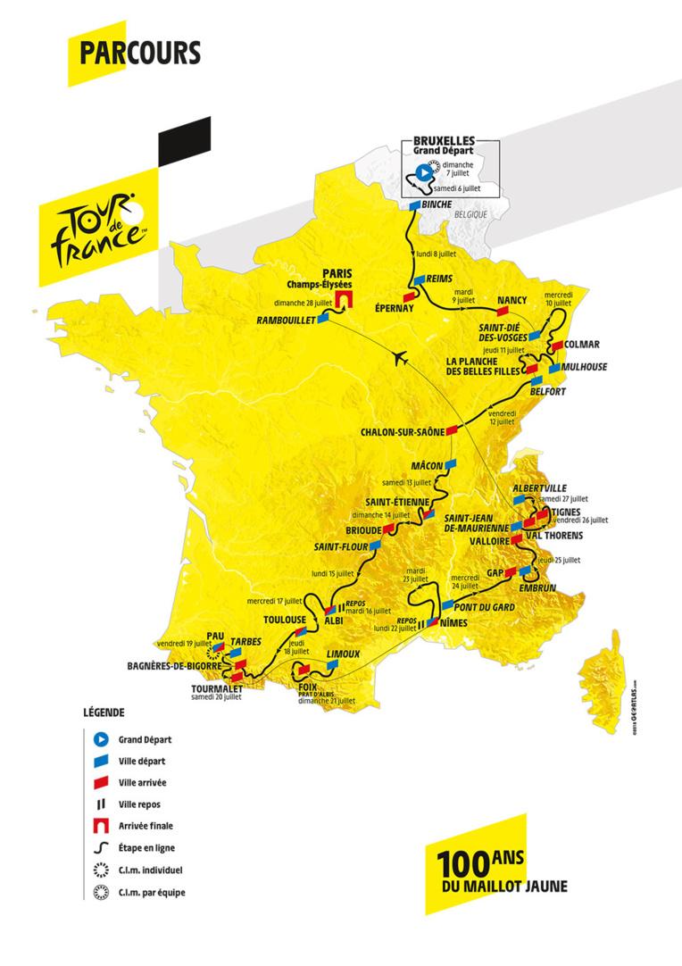 Le Tour de France s'élance avec une équipe dominante mais sans favori