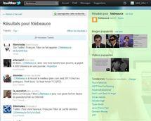 Sur Twitter, François Fillon se fait appeler @fdebeauce