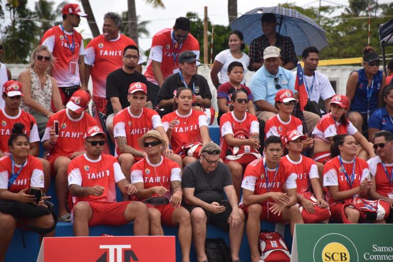 Samoa 2019 : Les beach-volleyeurs tahitiens s'inclinent face à Samoa