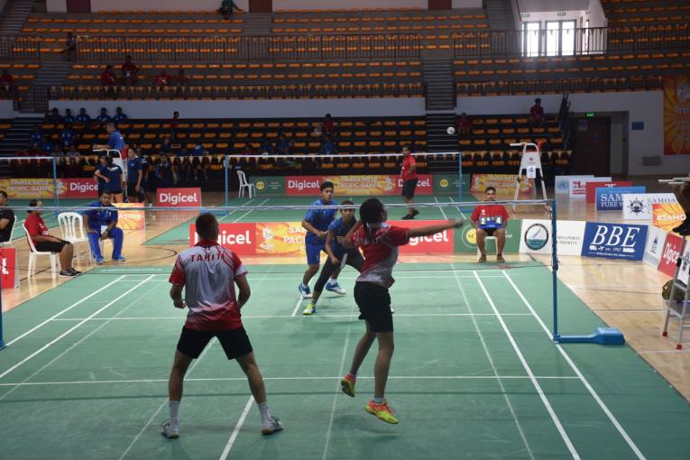La médaille de bronze pour le badminton tahitien en équipe mixte