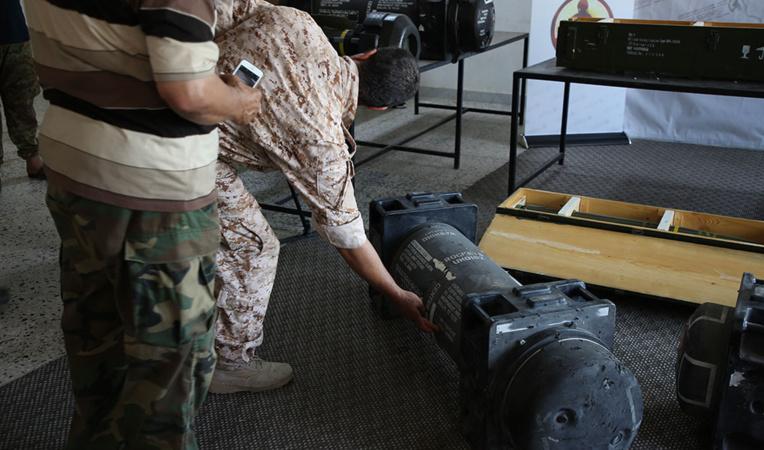 Libye: des missiles découverts sur une base pro-Haftar appartiennent à Paris