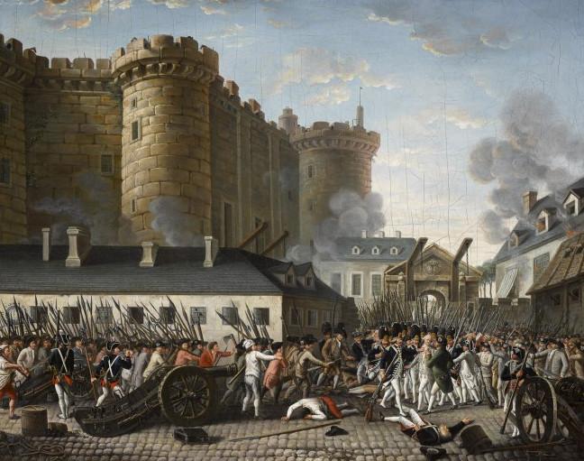La prison de La Bastille.