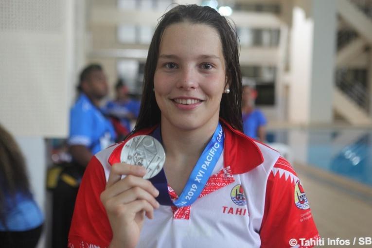 Quatre nouvelles médailles pour Tahiti en natation