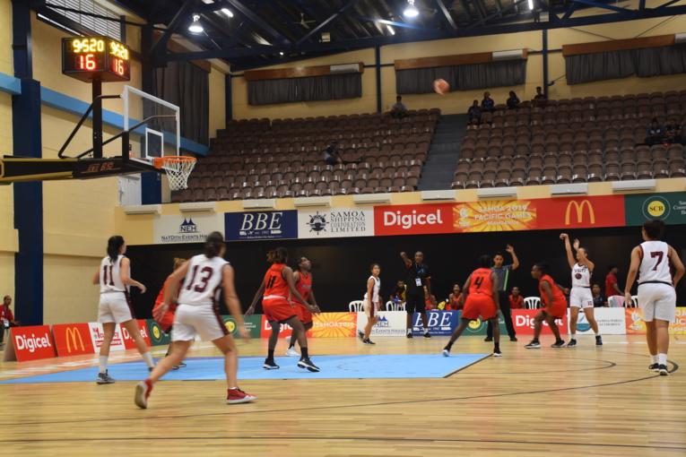 Après une lourde défaite mardi face aux Samoa américaines (85-61), la sélection féminine de basket-ball du fenua se devait de réagir pour son deuxième match aux Jeux du Pacifique.