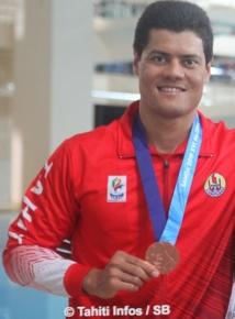 De l'argent et du bronze pour les nageurs tahitiens