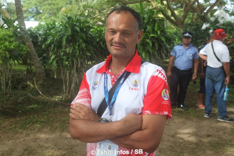 David Moutouh, président de lé fédération tahitienne de voile