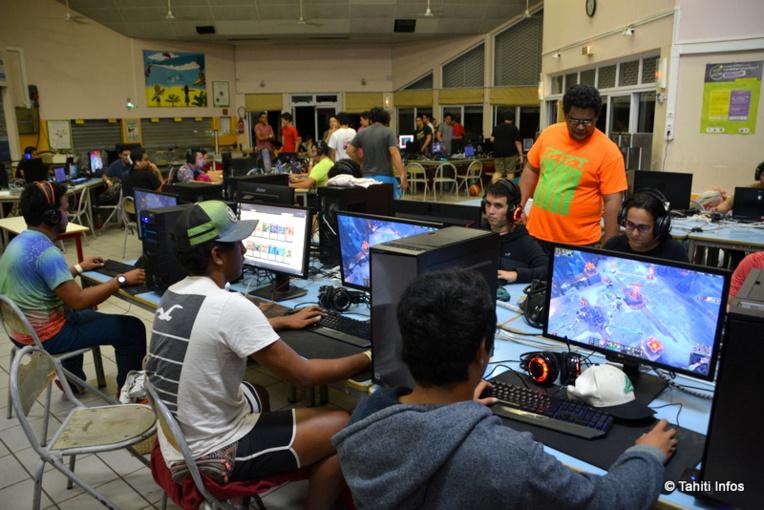Une centaine de joueurs a participé à la LAN de Tahiti Nui Arena du 5 au 7 juillet, au collège de Punaauia.