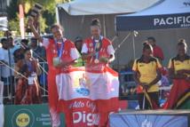 Le beach-volley tahitien en argent