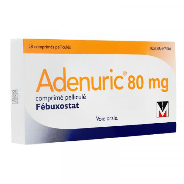 Goutte: l'Adenuric (fébuxostat) à éviter après une crise cardiaque ou un AVC