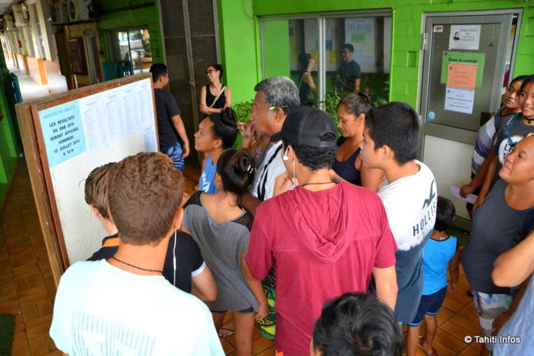 Les résultats de la session 2019 du DNB en Polynésie