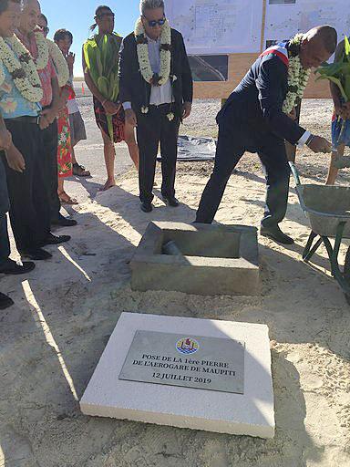136 millions pour la nouvelle aérogare de Maupiti