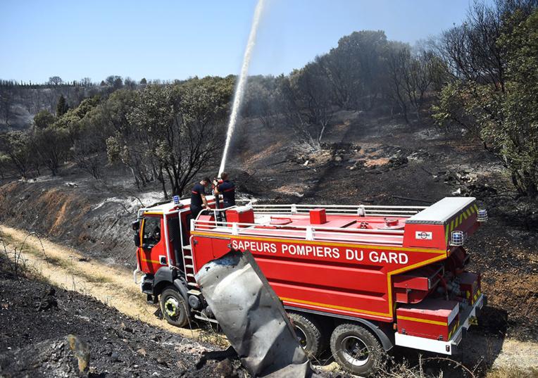Nouvel incendie dans l'Aude: 300 personnes évacuées d'habitations et d'un camping