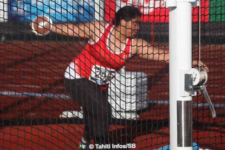 Loveleina Wong Sang, 6e en battant son record