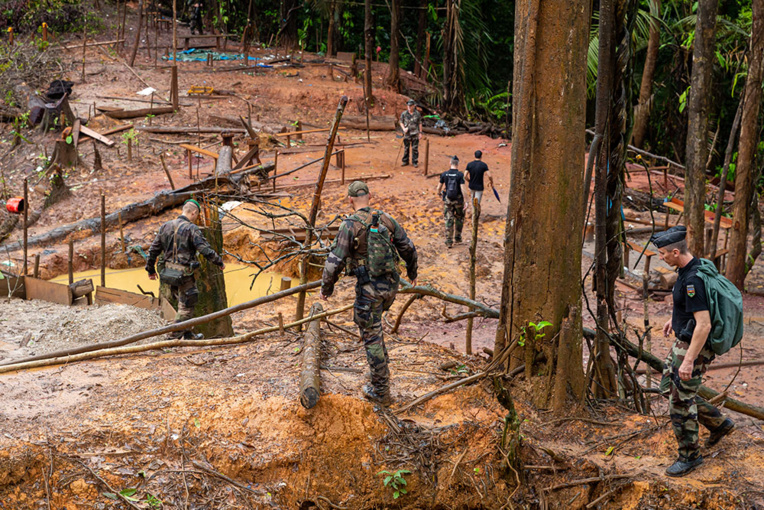 Guyane : trois soldats meurent pendant une opération contre l'orpaillage illégal