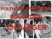 Polynésie française: Education en danger