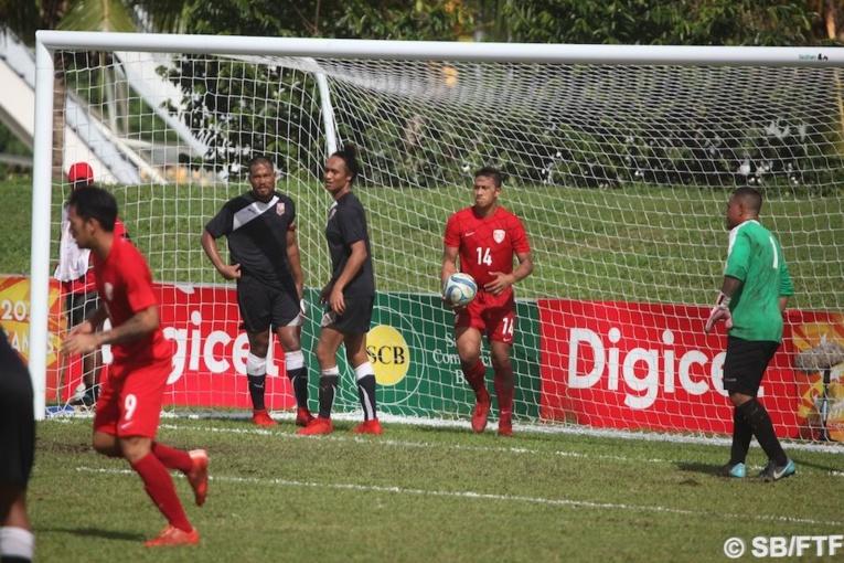 8 buts ont été marqués par Tamatoa Tetauira et ses coéquipiers