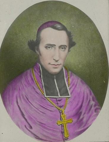 Cette illustration montre Mgr Epalle une fois ordonné évêque d'un diocèse aussi vaste que pauvre dans les lointaines « Mers du Sud ».
