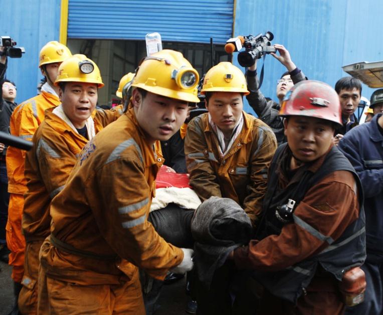 """Enorme explosion dans une usine en Chine, de """"nombreux blessés"""""""