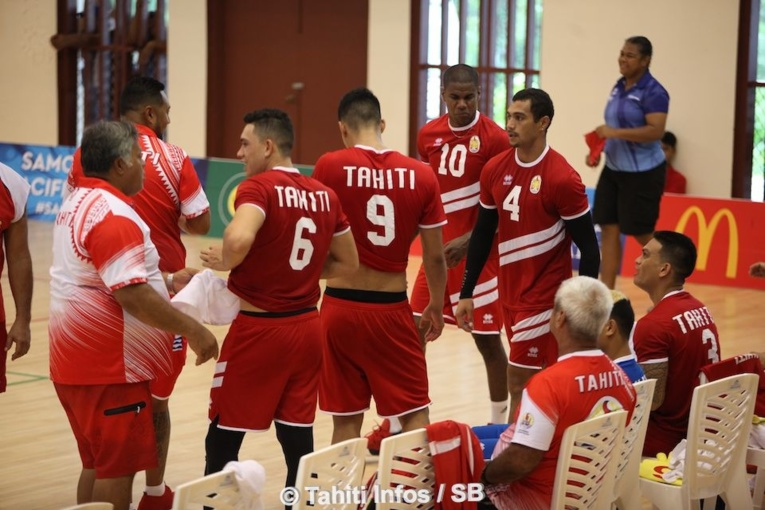 Les volleyeurs Tahitiens médaillés d'or