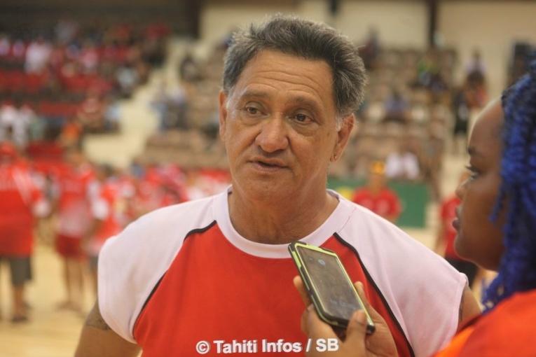 Abel Temarii, un président de fédération heureux