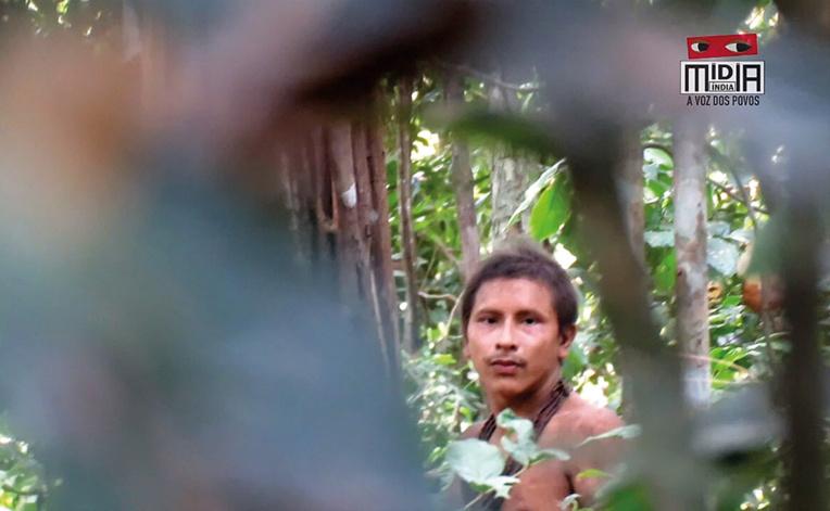 Brésil: une tribu isolée et menacée filmée dans la forêt