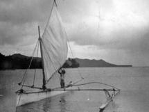 Légende: Tautu à la poursuite de sa pirogue perdue